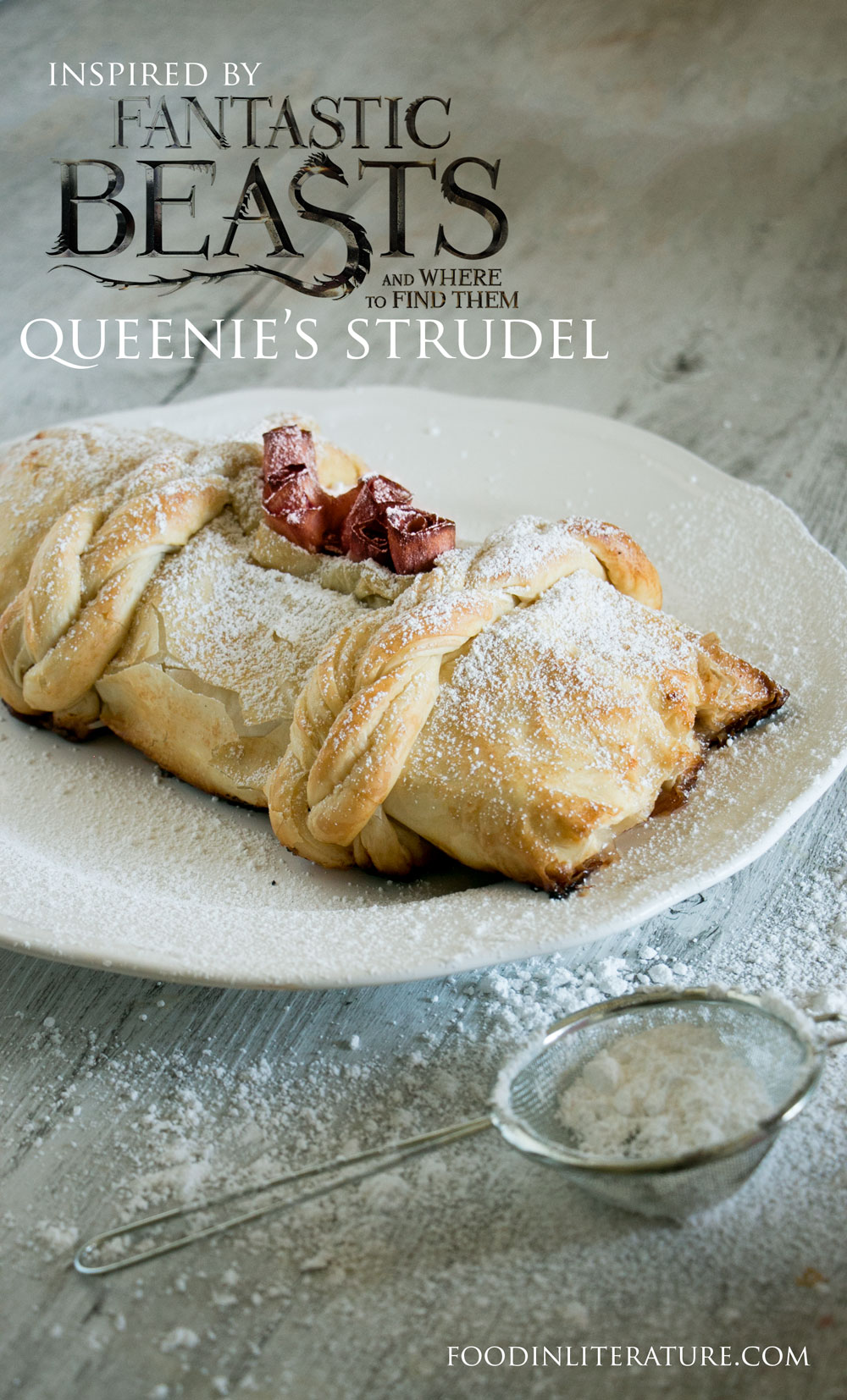 Queenie's Strudel | Fantastic Beasts and Where To Find Them