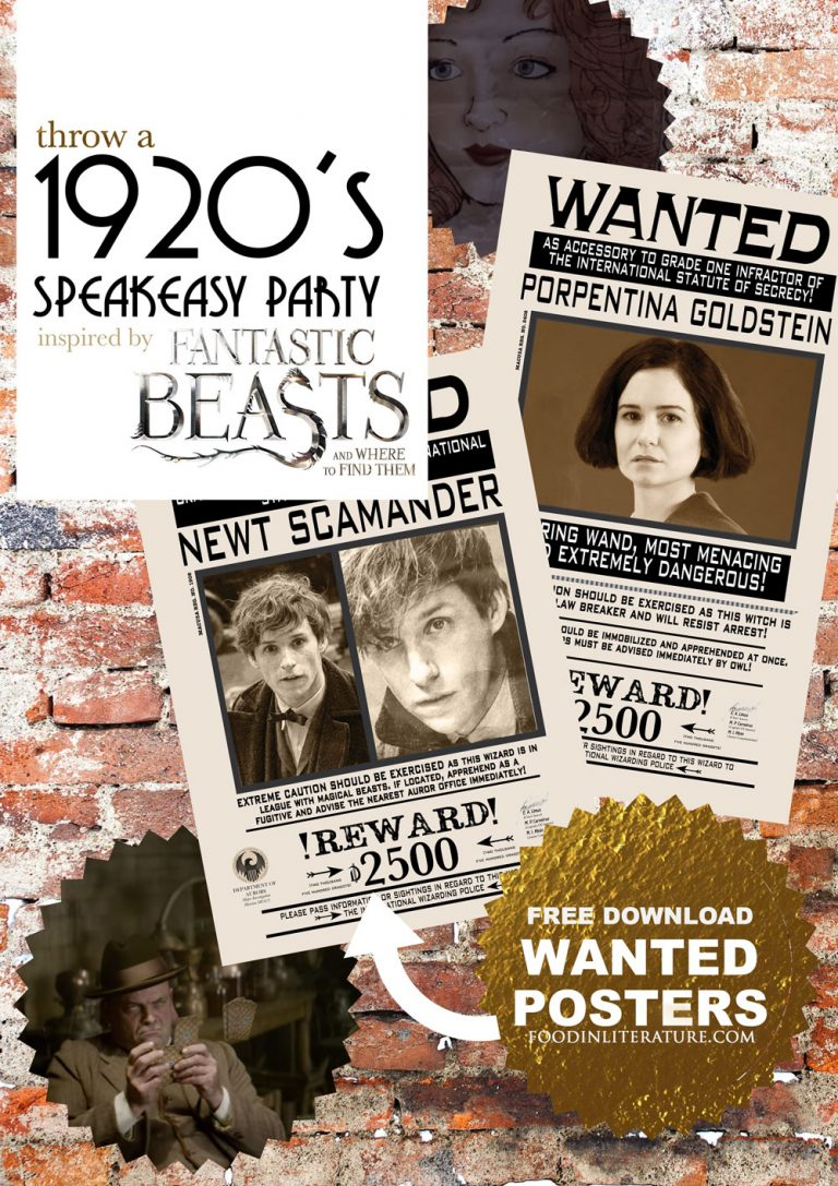 Throw a 1920's speakeasy party in 'The Blind Pig' | Fantastic Beasts and Where To Find Them