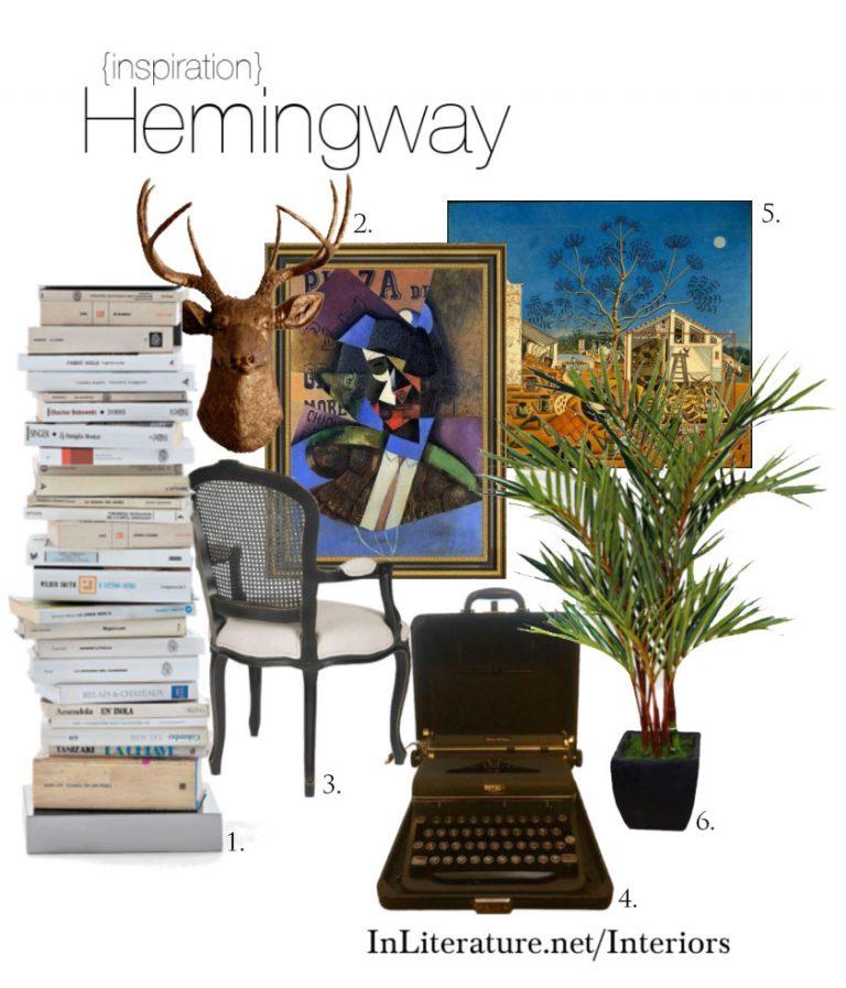 Hemingway Inspired Interiors