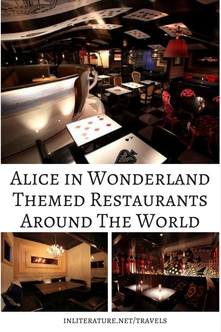 Alice in Wonderland Themed Restaurants Around The World
