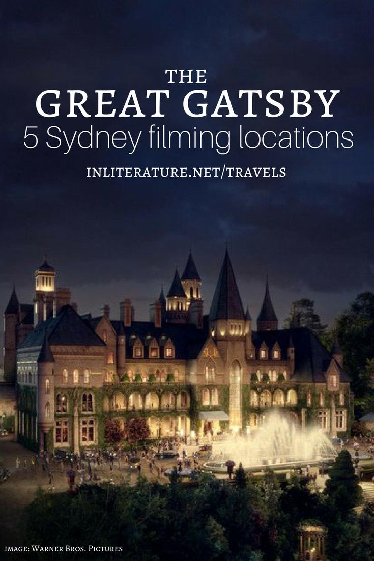 The Great Gatsby; 5 Sydney Locations
