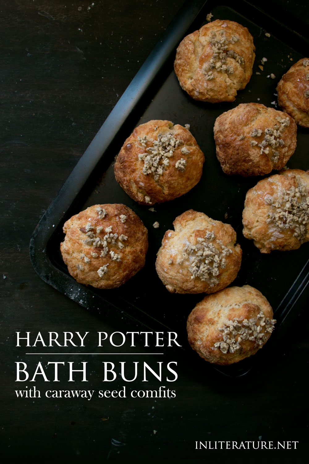 Bath Buns | Harry Potter