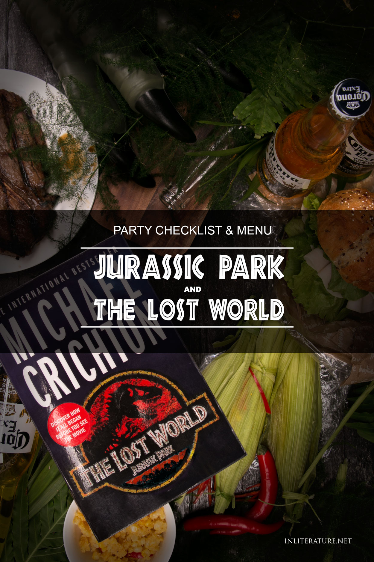 Use our party checklist and menu to plan your Jurassic Park party for the latest Jurassic World movie.