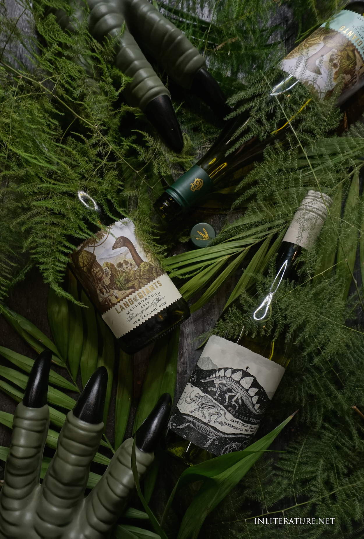 Team up these dinosaur themed wines in Australia for your Jurassic Park dinner party.