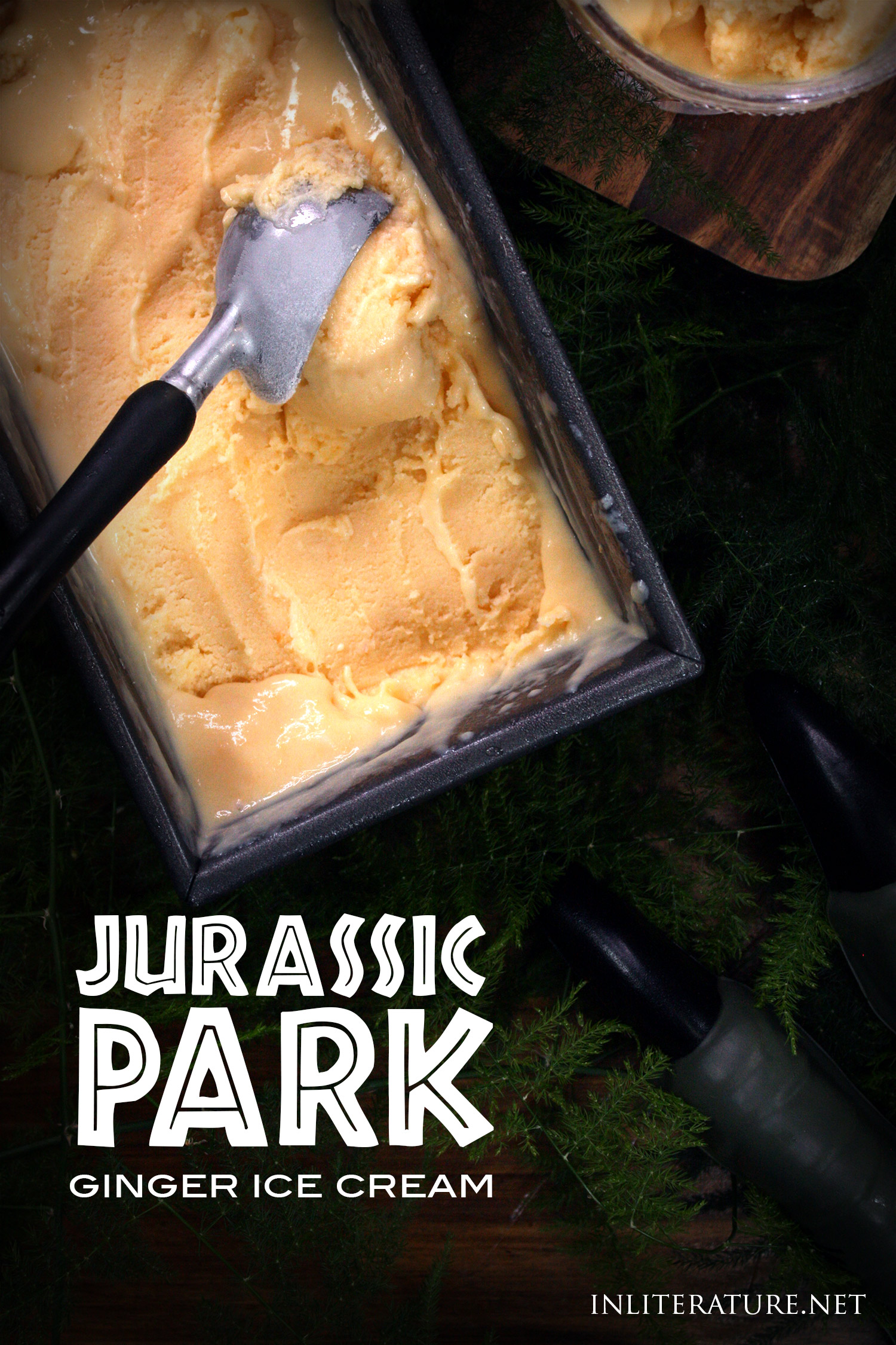 Whip up this delicious ginger ice cream mentioned in the original Jurassic Park novel. Perfect for your Jurassic World party to celebrate the latest movie, Fallen Kingdom!