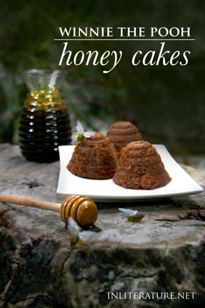 Turn Winnie the Pooh's favourite treat into a baked sweet- honey cakes in the shape of beehives!