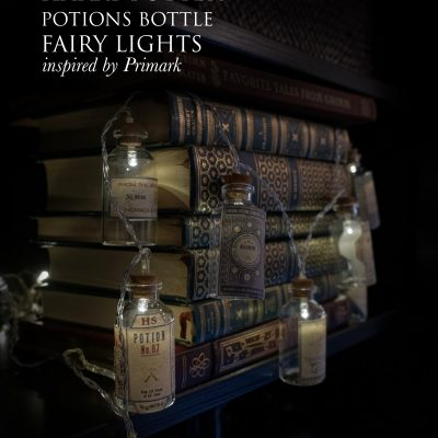 DIY Hogwarts Potion Bottle Fairy Lights [Primark Inspired] | Harry Potter