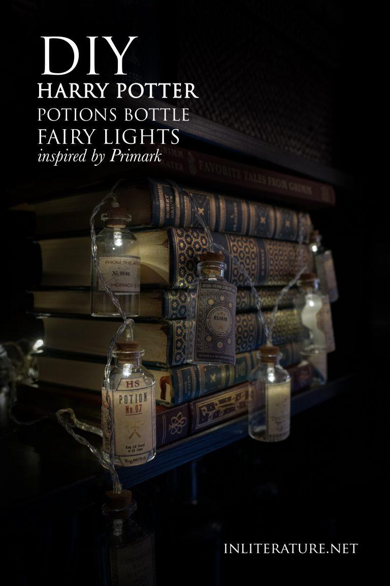 DIY Hogwarts Potion Bottle Fairy Lights [Primark Inspired] | Harry Potter