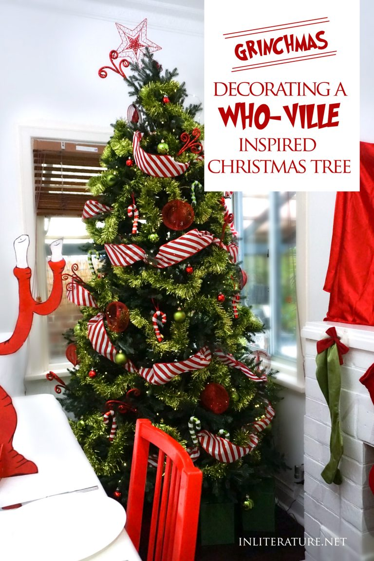 Decorating a Who-ville inspired Christmas tree