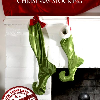 Who-ville Christmas Stockings tutorial