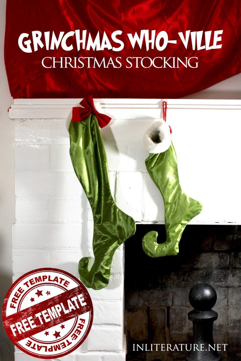 Who-ville Christmas Stockings tutorial