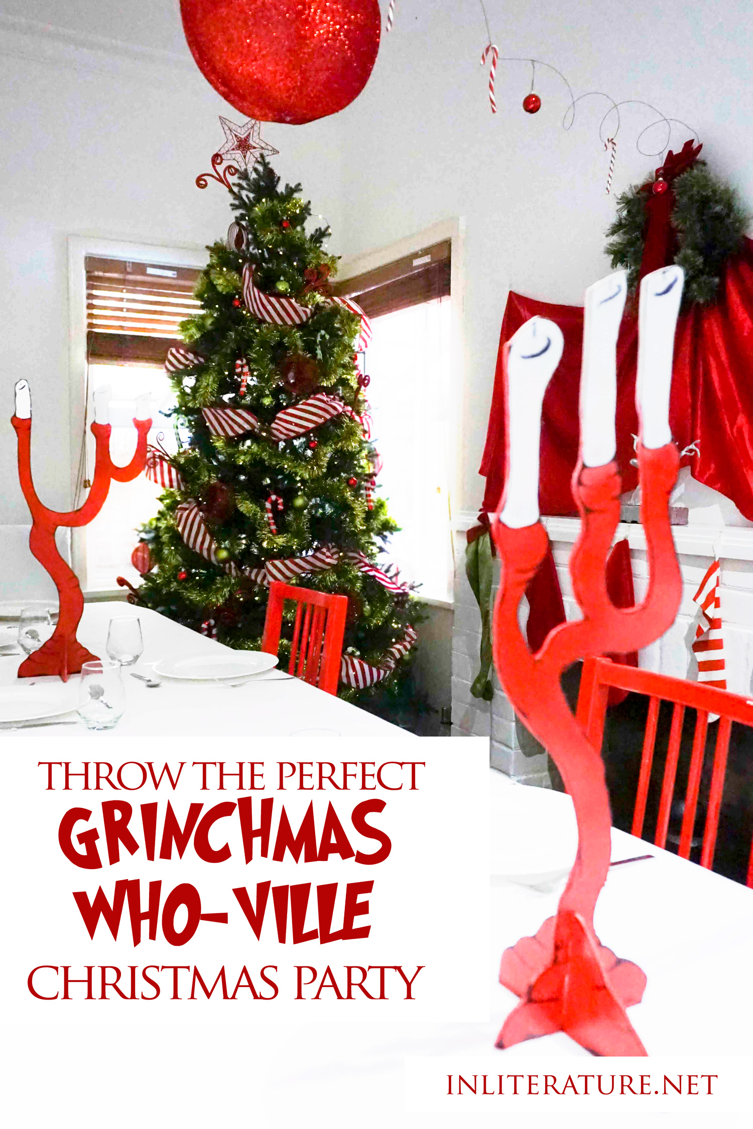 Be inspired this Christmas by How The Grinch Who Stole Christmas! We walk you through how to throw the perfect Who-ville inspired Christmas party this year.