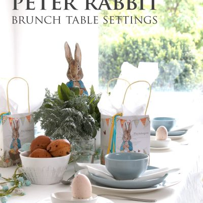 Easy Peter Rabbit Brunch Table Setting Ideas