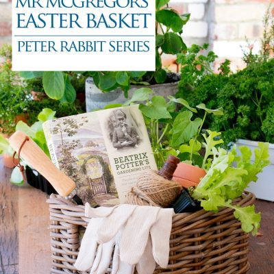Mr McGregor /Beatrix Potter Gardening Gift Basket