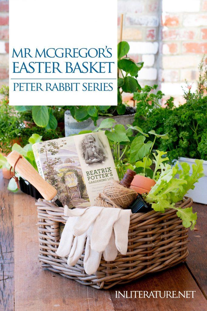 Mr Mcgregor Beatrix Potter Gardening Gift Basket In Literature