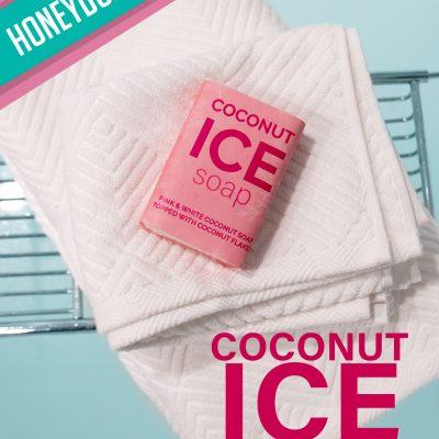 Honeydukes Coconut Ice Soap [DIY tutorial]