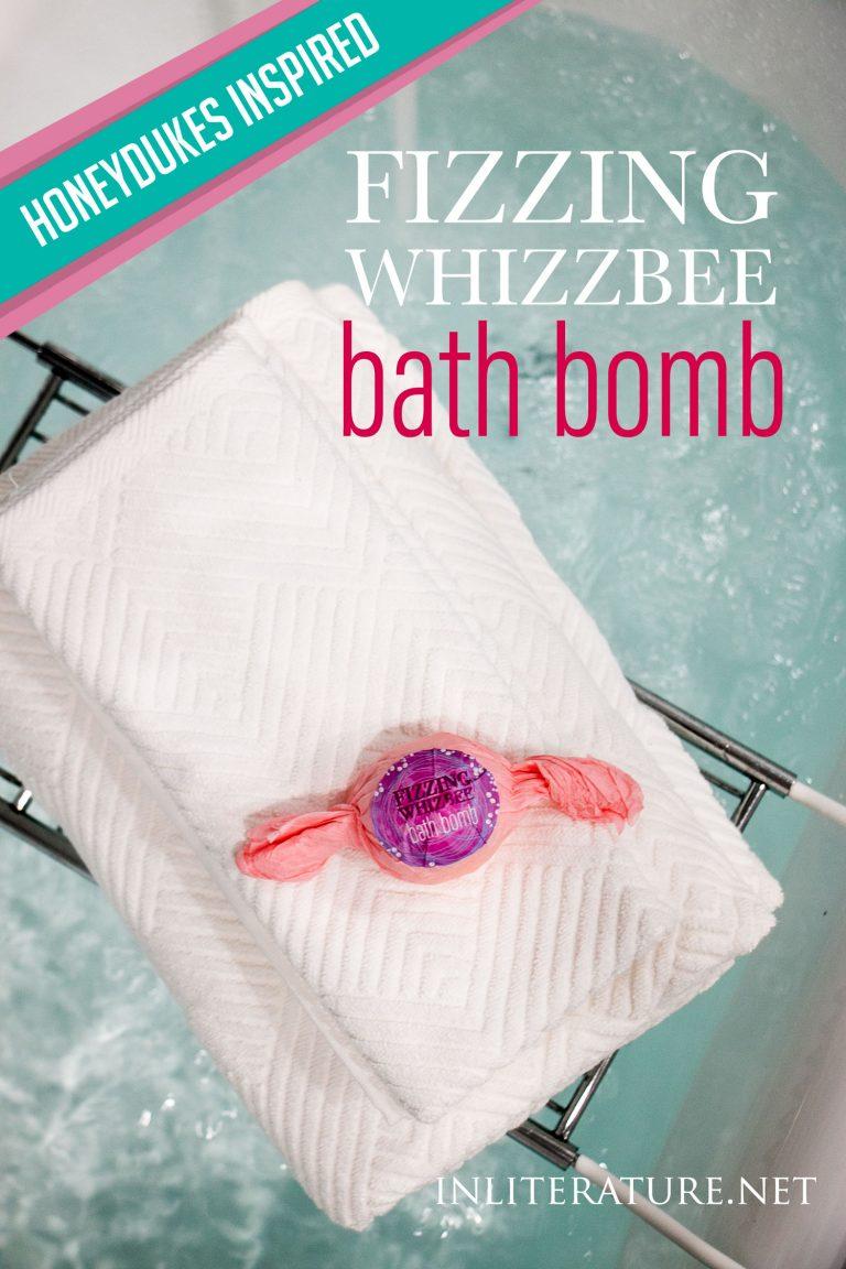 Honeydukes inspired Fizzing Whizbee bath bomb tutorial