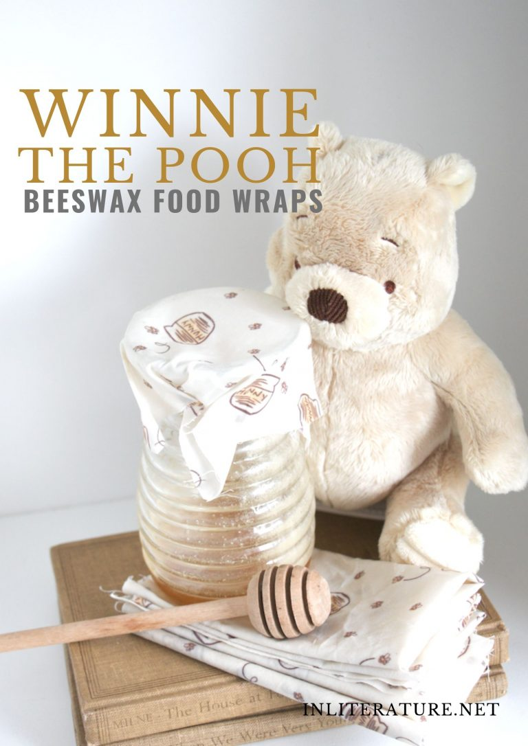 Winnie the Pooh Inspired Beeswax Food Wraps
