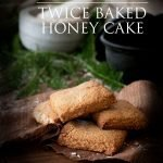 This delicious yet easy recipe for twice baked honey cake is perfect for your next Hobbit Day party!