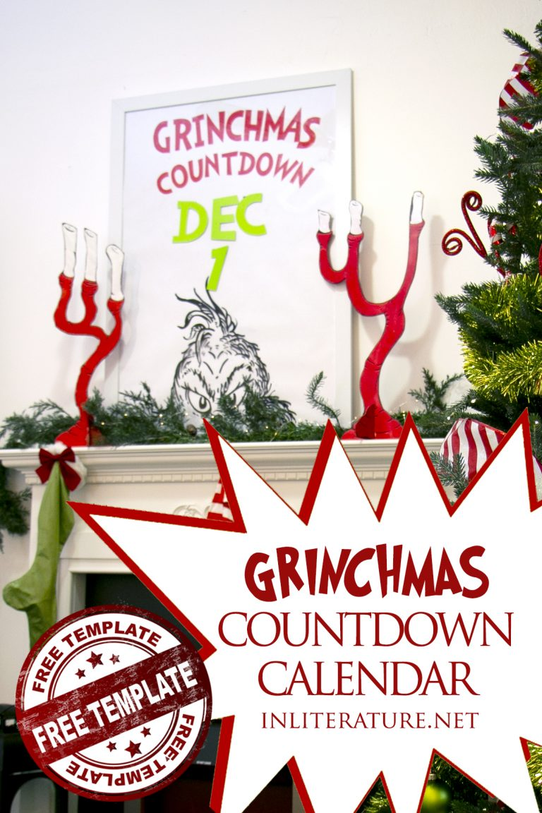 Grinch Christmas Countdown Calendar